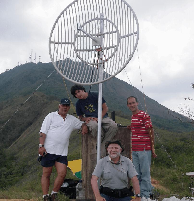 Рекорд в Венесуэле для 2,4 ГГц