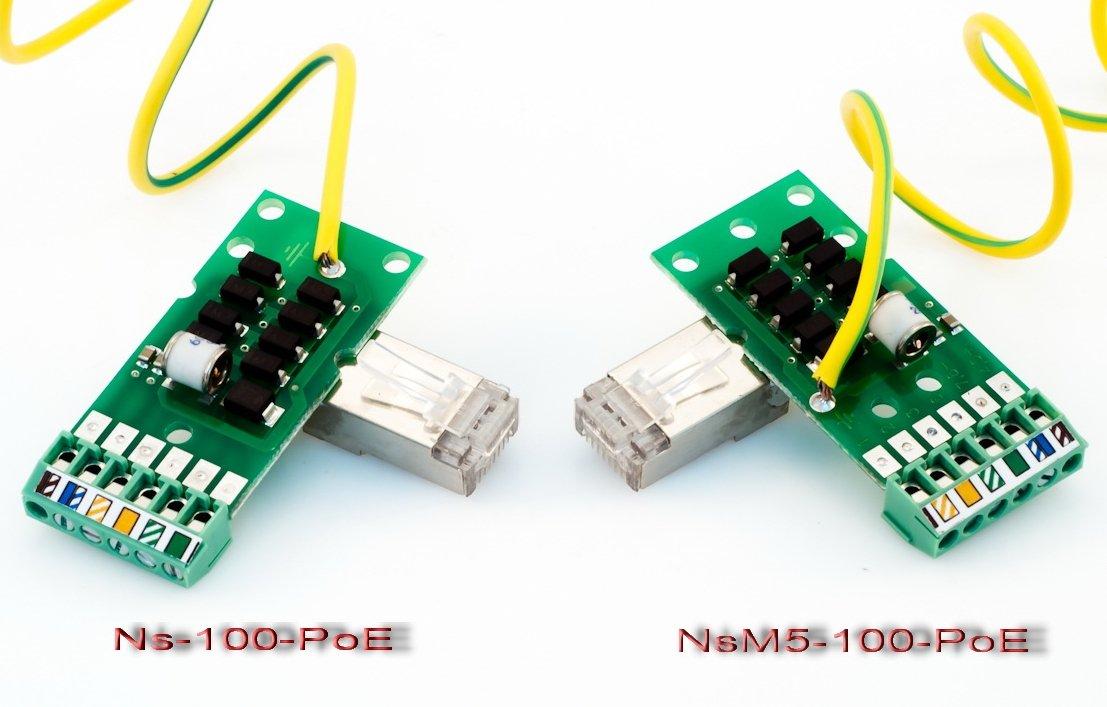 Отличия NSM-P100-POE и NS-100-POE