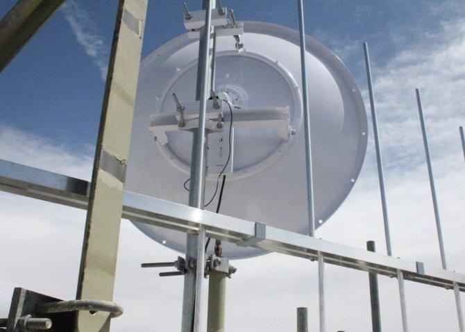 AirFiber 5X на расстоянии 225 км