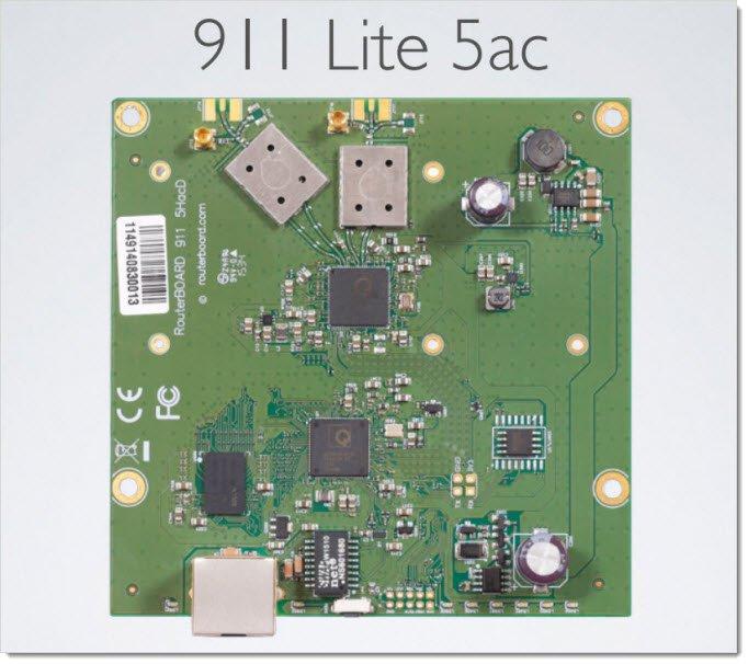 MikroTik 911 Lite 5 ac
