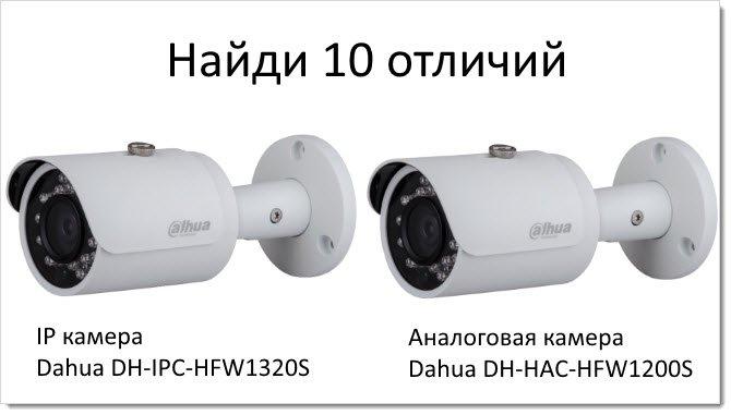 Отличия цифровых а аналоговых камер видеонаблюдения