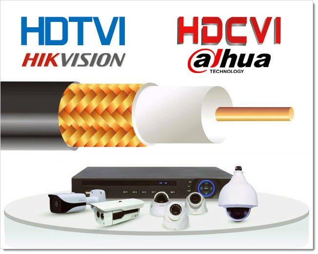 HDTVI и HDCVI, технологии-близнецы
