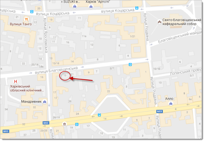 LanTorg на карте