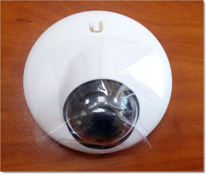 UniFi Video Camera G3 Dome - пленка
