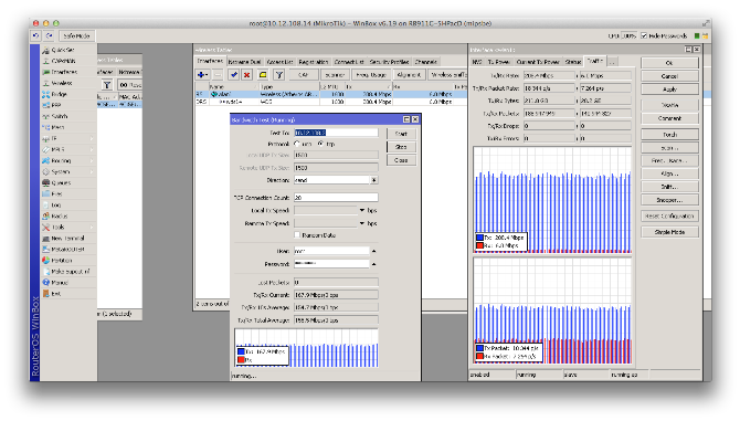 Тест NetBox5 ac MikroTik на 22 км