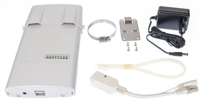 Mikrotik NetBox 5 комплектация