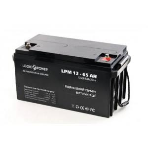 LogicPower LPM 12 - 65 AH аккумулятор