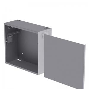 БК-550-з-1-3U K-1361 антивандальный шкаф навесной
