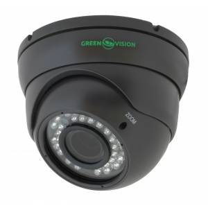 IP камера Green Vision GV-002-IP-E-DOS24V-30 Gray купольная