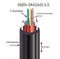 Кабель ОЦПс-2А1(1х2)-1,5