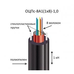 Кабель ОЦПс-8А1(1х8)-1,0