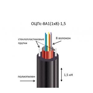 Кабель ОЦПс-8А1(1х8)-1,5