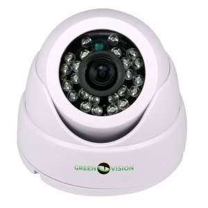 Камера Green Vision GV-037-GHD-H-DIS20-20 гибридная купольная