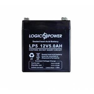 LogicPower 12V 5.0AH аккумулятор