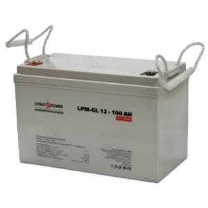 LogicPower LPM-GL 12 - 100 AH аккумулятор гелевый