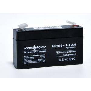 LogicPower LPM 6-1.3 AH аккумулятор