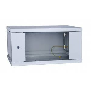 Шкаф телекоммуникационный настенный 9U СН-9U-06-04-ДС-1-7035