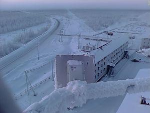 Работа UBNT зимой