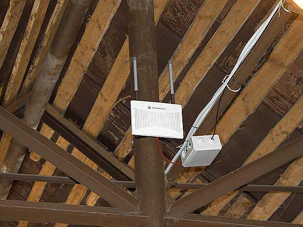 Установка точки доступа WiFi (неправильно)