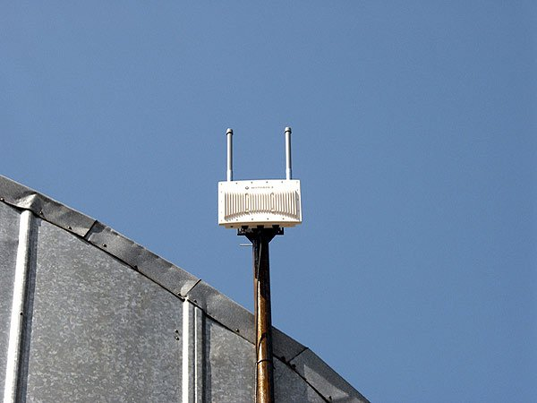 Установка точки доступа WiFi рядом с металлом