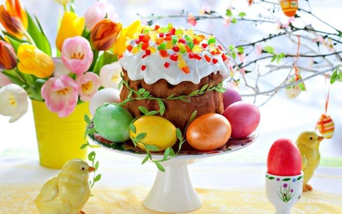 Праздник Пасхи выходной