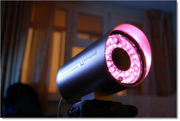 Камера с инфракрасной подсветкой
