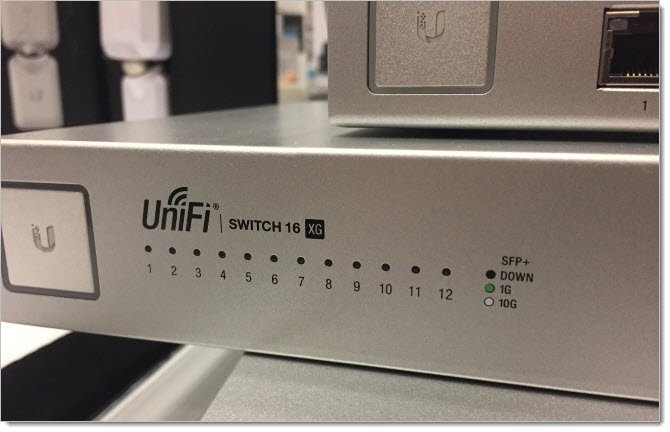 Ubiquiti UniFi Switch 16-XG