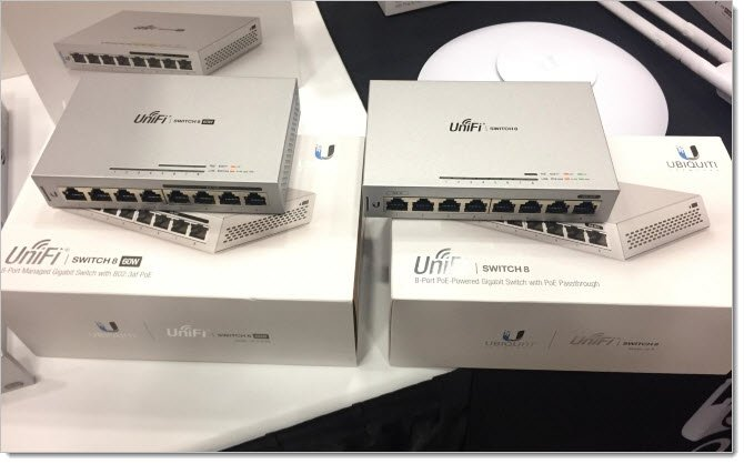 Ubiquiti UniFi Switch PoE 8-60W и Ubiquiti UniFi Switch 8
