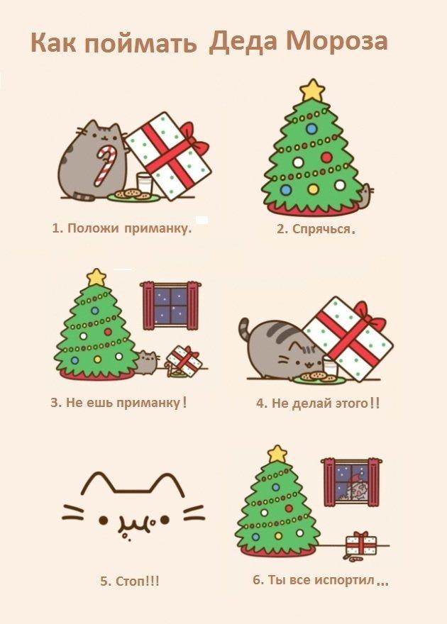 Как поймать Деда Мороза
