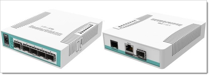 Mikrotik Cloud Routet Switch CRS106-1C-5S