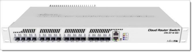 Mikrotik Cloud Router Switch CRS317-1G-16S+RM