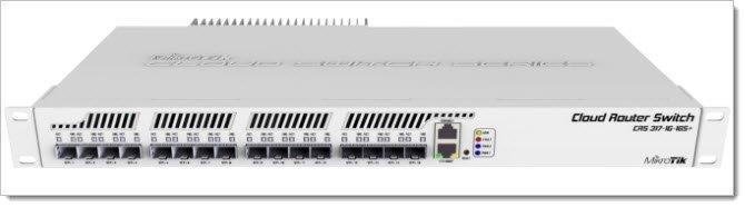 Mikrotik Cloud Router Switch CRS317-1G-16S+RM
