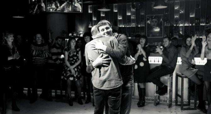 Корпоратив танец Дмитрия