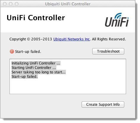UniFi Controller Server taking too long to start