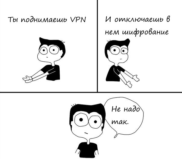 Шифрование в VPN