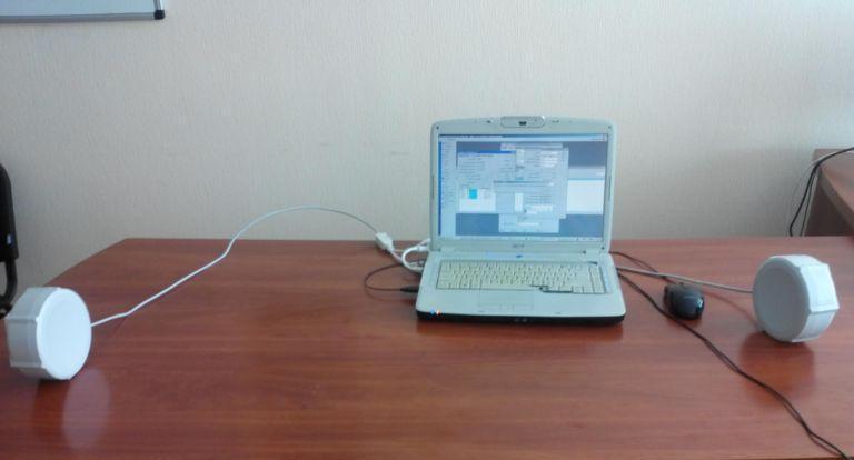 MikroTik SXT ac тест на столе