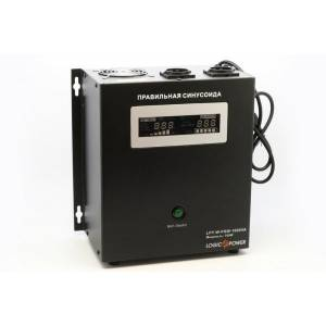 Logicpower LPY- W - PSW-1000VA+ (700Вт) 10A/20A ИБП с правильной синусоидой 12в
