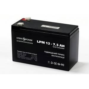 LogicPower LPM 12 - 7,5 AH аккумулятор
