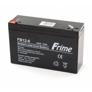 Аккумуляторная батарея Frime 6V 12.0AH (FB12-6) AGM