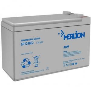 Аккумуляторная батарея MERLION AGM GP1290F2 12 V 9 Ah