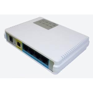 BDCOM ONU P1004C1 GEPON-PON абонентский терминал 4 порта 100Мб