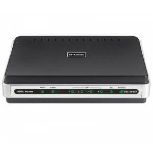 D-Link DSL-2540U/BRU ADSL модем