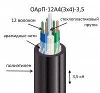 Кабель ОАрП-12А4(3х4)-3,5