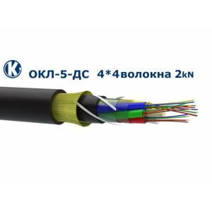 Одескабель ОКЛ-5-ДС(2,0)П-4*4Е1-0,36Ф3,5/0,22Н18-16/0 подвесной ADSS кабель