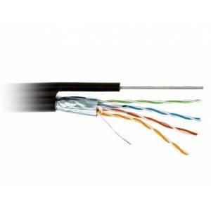 Кабель наружный Winner FTP cat5e CU (медь) 4x2x0.50 со стальной проволокой 1,3 (бухт/305m)