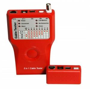 Кабельный тестер KD-CT011 RJ11/RJ12/RJ45/BNC/USB