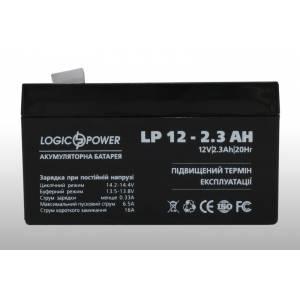LogicPower 12V 2.3AH аккумулятор
