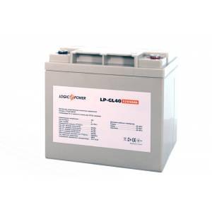 LogicPower LP-GL 12V 40AH аккумулятор гелевый