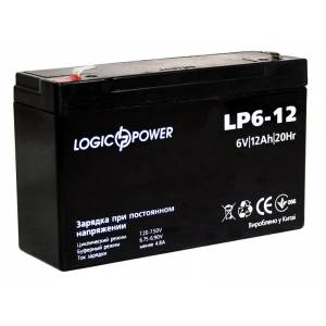 LogicPower LP6-12 AH аккумулятор