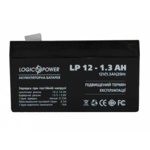LogicPower LPM 12 - 1.3 AH аккумулятор
